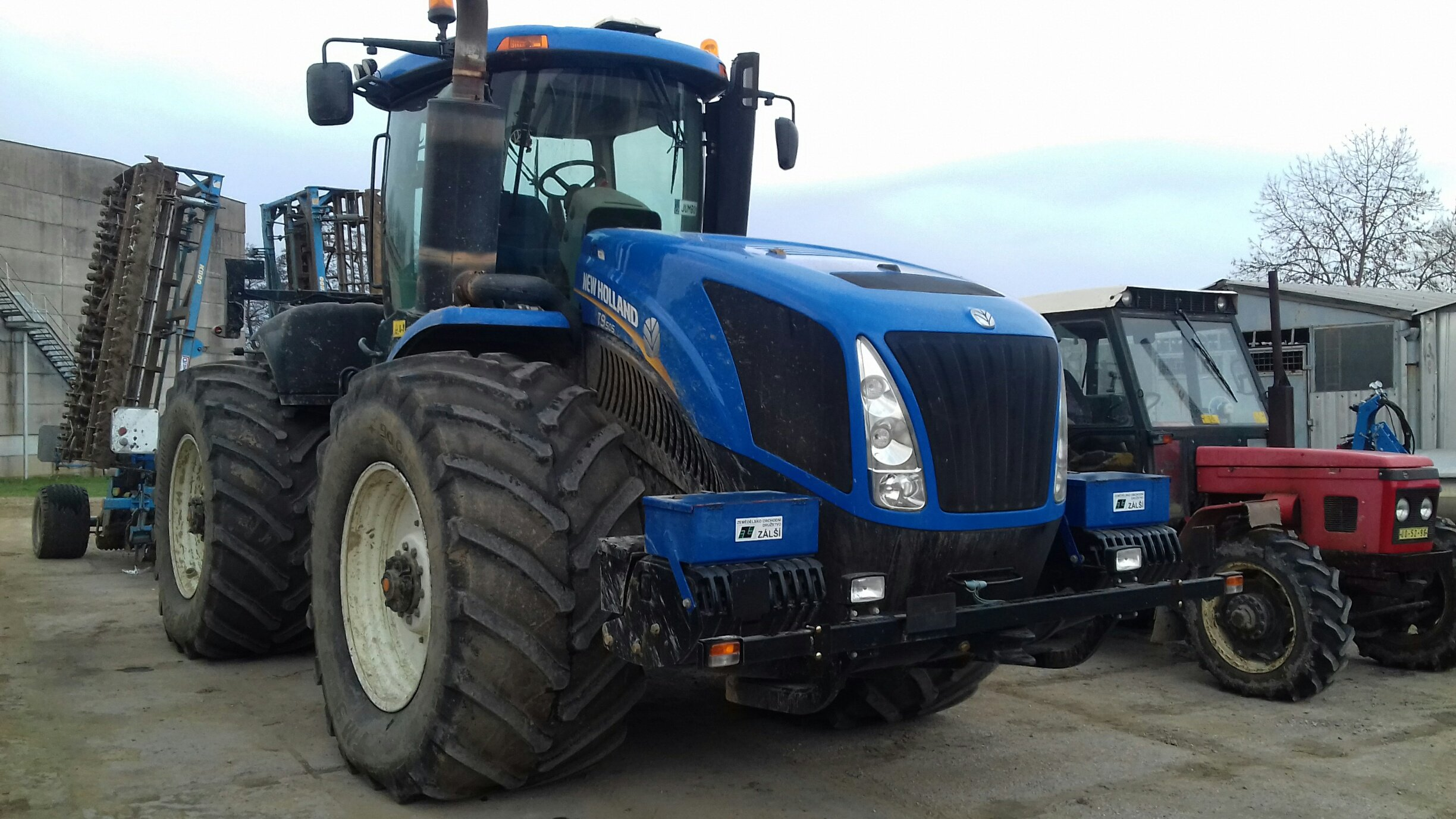 New Holland T 9505
